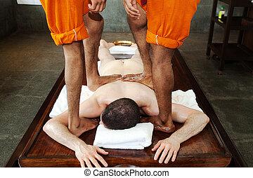 ayurveda, masaje