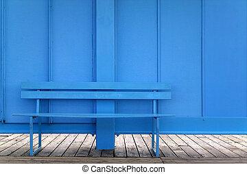 azul, banco