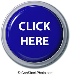 azul, botón, gota, aquí, sombra, clic