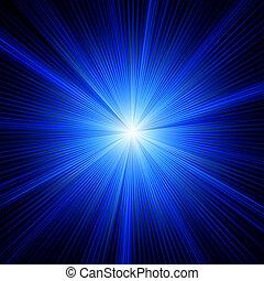 azul, color, eps, burst., diseño, 8