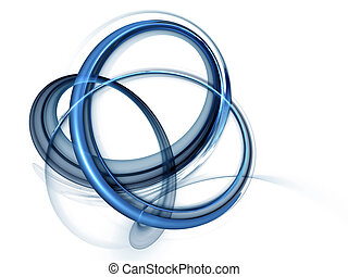 azul, dinámico, giratorio, movimientos