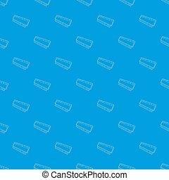 azul, dvd personal, carnero, seamless, módulo, computadora, patrón