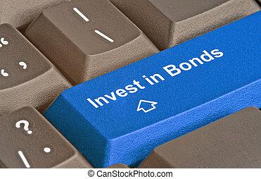 azul, invierta, bonos, llave