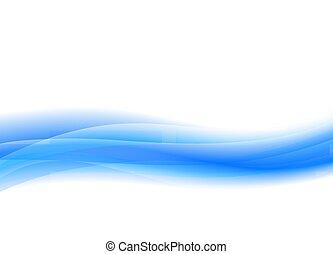 Azul pálido, flujo de vectores de fondo