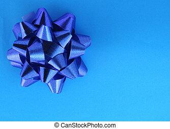 azul, presente