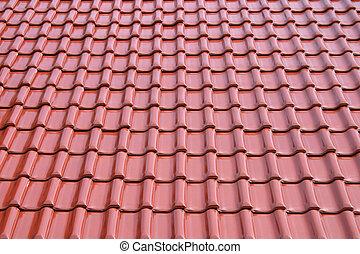 azulejo, metal, techo