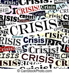 azulejo, titulares, crisis