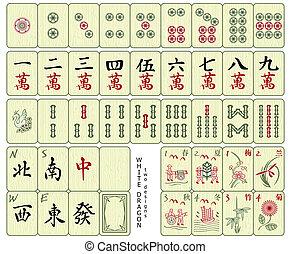 azulejos, mah-jong