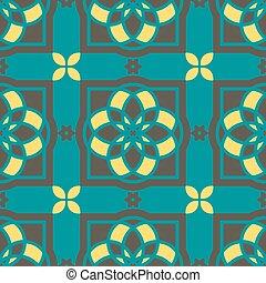 Azulejos portugués. Patrones sin costura.