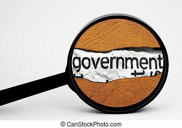 búsqueda, gobierno