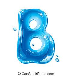 b, líquido, -, agua, carta, capital