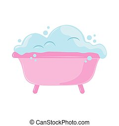 bañera, burbujas