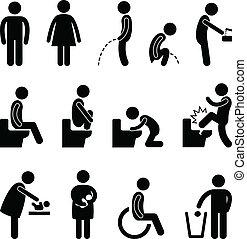 Baño de baño embarazada