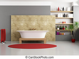 Baño moderno