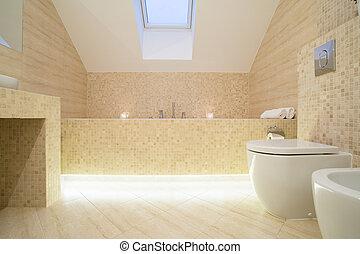Baño sofisticado