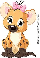 Baby Girl Hyena
