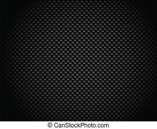 backg, vector, carbón, fibra, botón