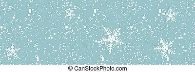 backgroun, ventisca, seamless, invierno