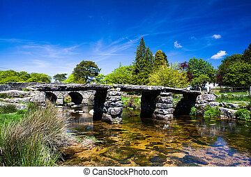 badajo, antiguo, puente