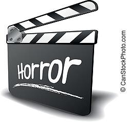 badajo, horror, tabla