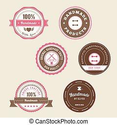 Badges para productos hechos a mano