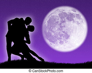 Baila en la luna