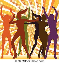 Bailando con chicas con antecedentes de rayos