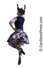bailarín, escocés
