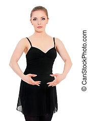 Bailarina profesional de ballet