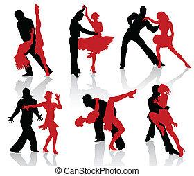 baile, salón de baile