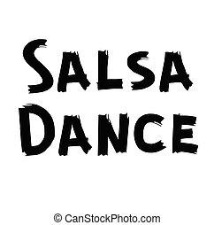 baile, salsa, etiqueta