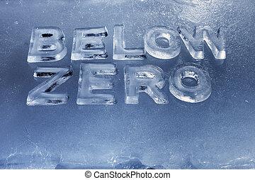 Bajo cero