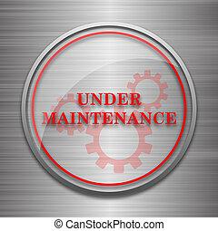 Bajo el icono de mantenimiento
