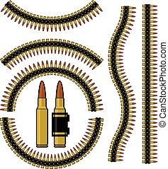 Bala, cartucho de ametralladora