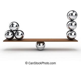 balance, pelota