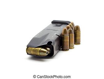 Balas de policía 9mm