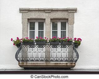 Balcón en Pont-Aven