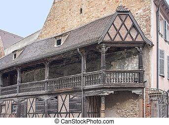 Balcón histórico