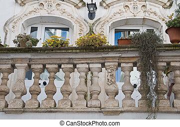 Balcón histórico.
