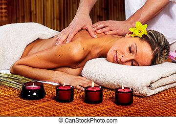 balneario, massage.