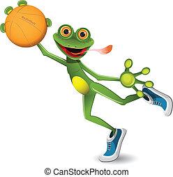 baloncesto de rana