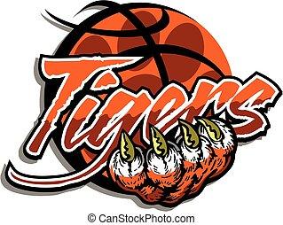 Baloncesto de tigre