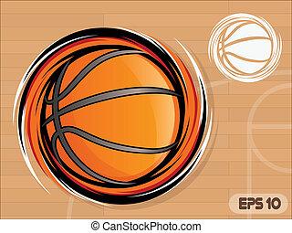 baloncesto, icono