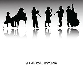 banda, jazz