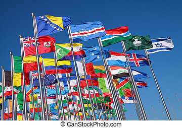 Bandas de países de todo el mundo