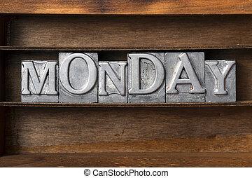 bandeja, lunes