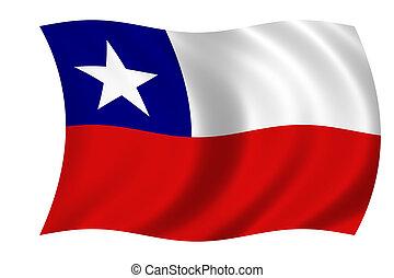 bandera, chile