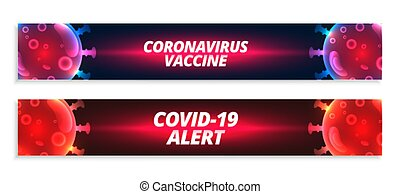 bandera, covid-19, alarma, conjunto, coronavirus, vacuna