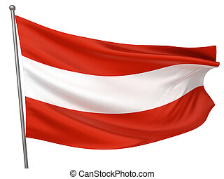bandera de austria, nacional