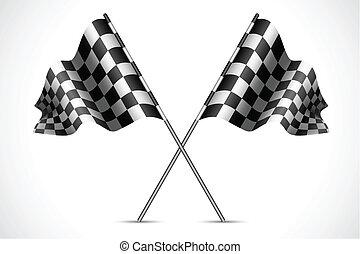 Bandera de carreras